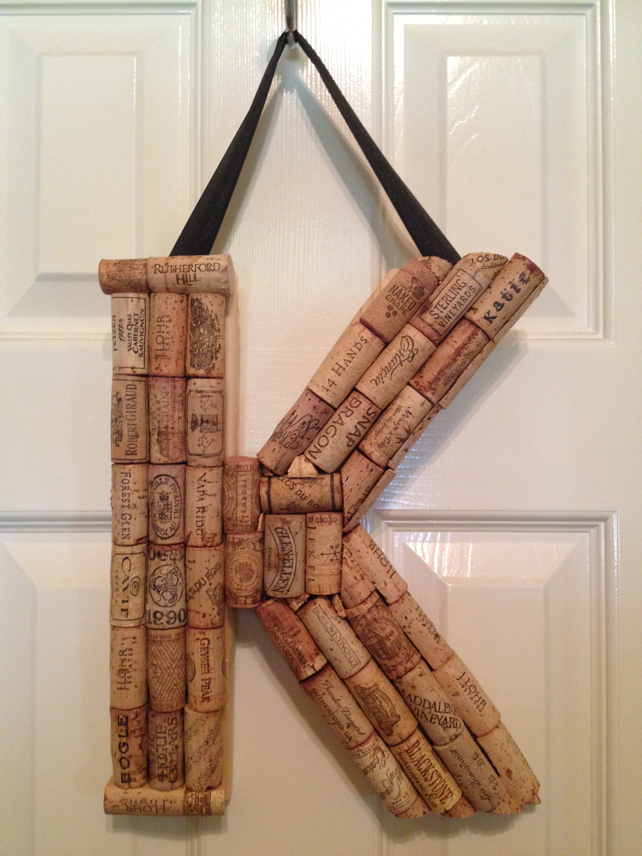 personalized cork letters